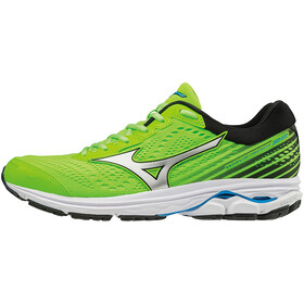 Mizuno Wave Rider 22 Shoes Men Green Gecko/Silver/Brilliant Blue